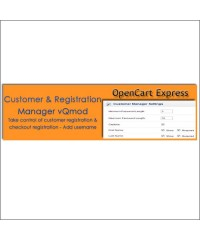 Customer & Registration Manager