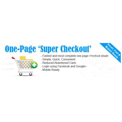 Скачать One Page Super Quick Checkout 1-Page Checkout на сайте rus-opencart.info