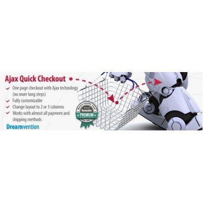 Скачать AJAX Quick Checkout, быстрое оформление заказа на сайте rus-opencart.info
