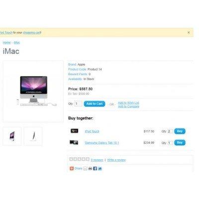 Скачать Buy Together (vQmod), купите вместе на сайте rus-opencart.info