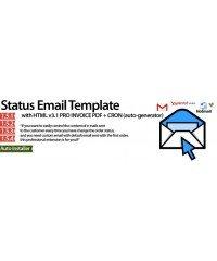 Order Status Email Templates, Статус заказа Email Шаблоны