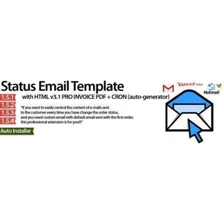 Скачать Order Status Email Templates, Статус заказа Email Шаблоны на сайте rus-opencart.info