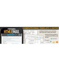 Профессиональный HTML редактор шаблона электронной почты
