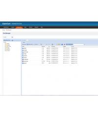 Файловый менеджер и редактор файлов из админ панели