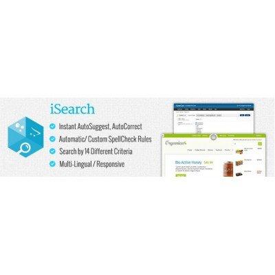 Скачать Улучшенный поиск | iSearch на сайте rus-opencart.info