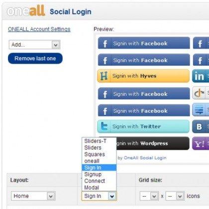Скачать ONEALL Social Login, вход через соцюсеть на сайте rus-opencart.info