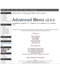 Advanced Menu Layered Category Attribute Options Ajax