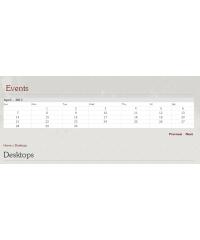 Event Calendar for OpenCart, Календарь событий