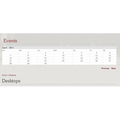 Скачать Event Calendar for OpenCart, Календарь событий на сайте rus-opencart.info