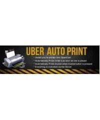 Uber Auto Pprint, Автоматическая печать заказа