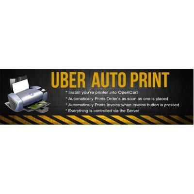 Скачать Uber Auto Pprint, Автоматическая печать заказа на сайте rus-opencart.info
