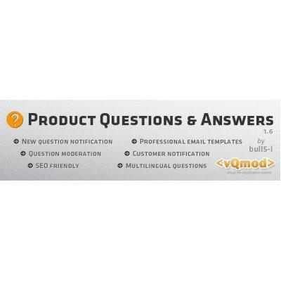 Скачать Ask a Question, задать вопрос в карточке товара на сайте rus-opencart.info
