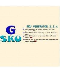 SKU Generator 1.5.x, Артикул генератор