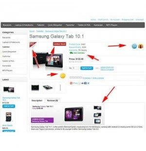 Скачать Image and Text Tags, Изображения и текстовые теги на сайте rus-opencart.info