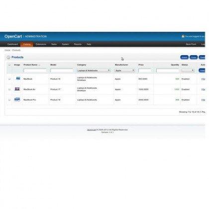 Скачать Admin catalog - Filter By Category And Manufacturer на сайте rus-opencart.info