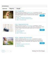 Новости / Блог opencart - News/Blog System Pro