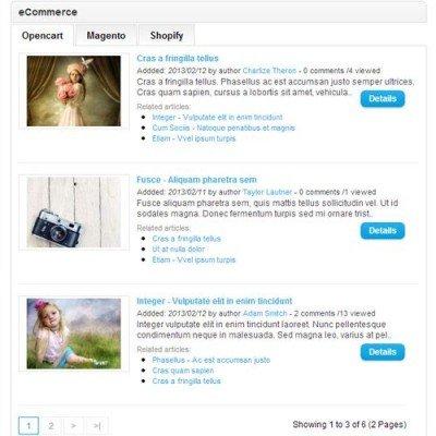 Скачать Новости / Блог opencart - News/Blog System Pro на сайте rus-opencart.info
