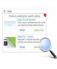 Auto Suggest Search, улучшенный поиск opencart