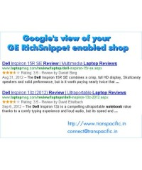 SEO with Google Rich Snippet for Products, сниппет Google