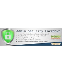 Admin Login Security Lockdown Suite, защита админки