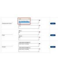 Attribute Select,  облегчение ввода значений для атрибутов