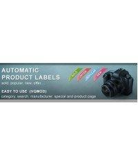 Automatic-stickers, автоматические стикеры