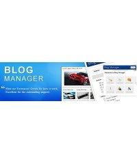 Blog Manager  для Opencart