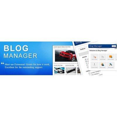Скачать Blog Manager  для Opencart на сайте rus-opencart.info