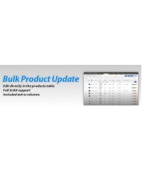 Bulk Product Update Pro