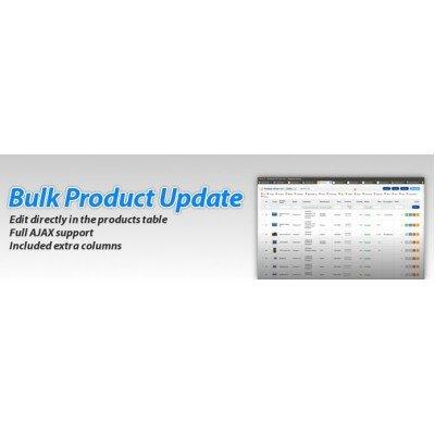 Скачать Bulk Product Update Pro на сайте rus-opencart.info