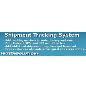 Скачать Cистема отслеживания отгрузки, Shipment Tracking 1.5.x на сайте rus-opencart.info