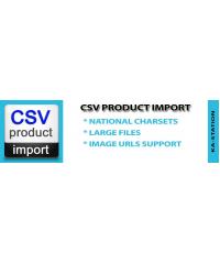 CSV Product Import
