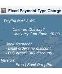 Фиксированная плата, Fixed Payment Type Charg