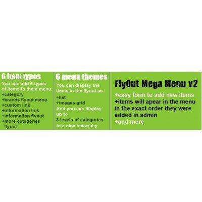 Скачать Flyout Mega menu на сайте rus-opencart.info