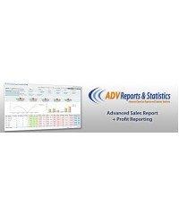 Отчет о продажах + Отчет о прибыли, Advanced Sales Report + Profit Reporting