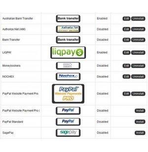 Скачать Payment Icons v1.8, Иконки методов оплаты на сайте rus-opencart.info