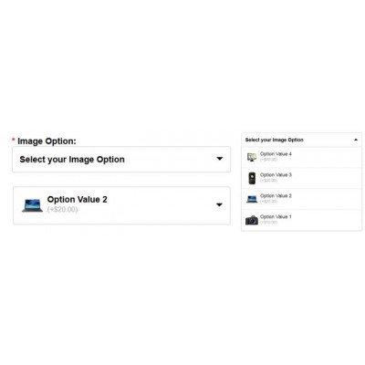 Скачать Product image option drop down, красивые опции товаров на сайте rus-opencart.info