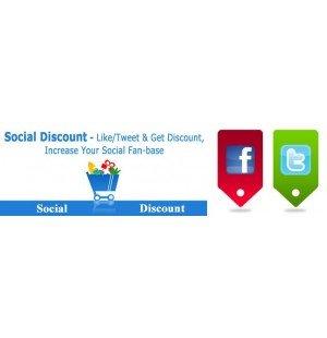 Скачать Social Discount - специальные скидки за отзывы в соц. сетях на сайте rus-opencart.info