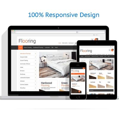 Скачать Шаблон цветов | Flooring Responsive OpenCart Template на сайте rus-opencart.info