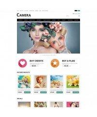 Photo Bank OpenCart Template