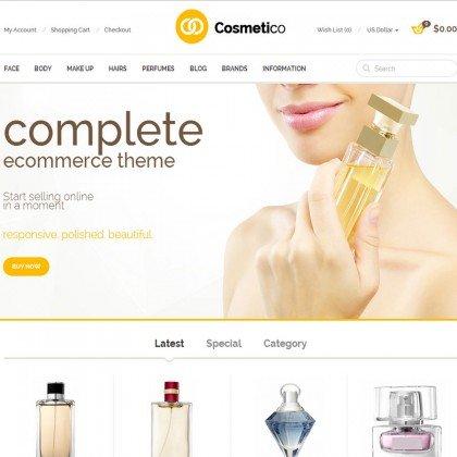 Скачать Cosmetico - Responsive OpenCart Template на сайте rus-opencart.info