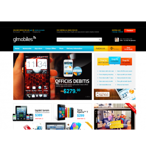 Скачать Bossthemes GLMobiles Responsive OpenCart Theme на сайте rus-opencart.info