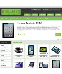 GreBleen3 - Powerfull opencart 1.5.x template