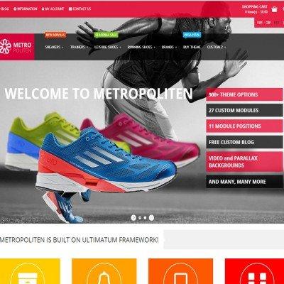 Скачать Metropoliten - Responsive OpenCart theme with blog на сайте rus-opencart.info