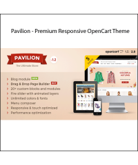 Pavilion - Premium Responsive OpenCart Theme
