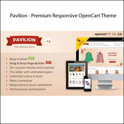 Скачать Pavilion - Premium Responsive OpenCart Theme на сайте rus-opencart.info