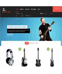 Pav Music Store Responsive Opencart Theme