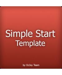 Simple Start Template, Адаптивный шаблон