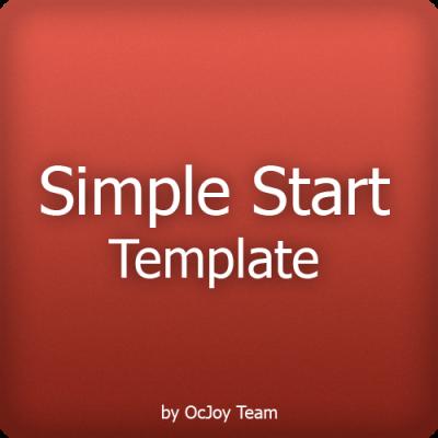 Скачать Simple Start Template, Адаптивный шаблон на сайте rus-opencart.info