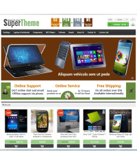 SuperTheme - Responsive Template